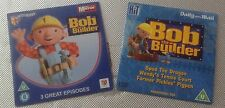2 newspaper promo DVDs bob the builder children's dvds
