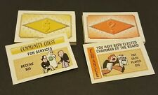 Monopoly 60th Anniversary Limited Edition Chance & Community Chest Cards