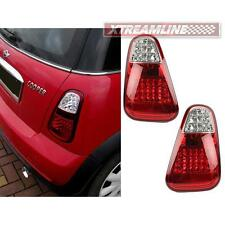 # LED Tail Light Rear Lamp Red+Clear For Mini Cooper R50 R52 R53 02-04