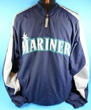 SEATTLE MARINERS Pullover Jacket (L) MAJESTIC