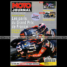 MOTO JOURNAL N°1143 GRAND PRIX DE FRANCE APRILIA 650 PEGASO CAGIVA 600 W16 1994