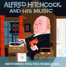 NEW Alfred Hitchcock And His Music by Rack Godwin Doris Day CD (CD) Free P&H