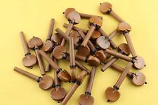 20pcs high quality 4/4 Violin Pegs Jujube wood Violin Tuning Pegs violin parts