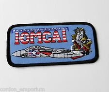US NAVY F-14 TOMCAT BABY EMBROIDERED PATCH 3.2 X 1.75 INCHES