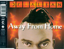 DR ALBAN Away From Home 4x  UK CD Single 1994 AMADIN Development Corporation