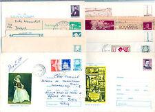 Romania - Cartoline e Biglietti Postali. - Lotto da 10