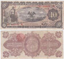 Mexico Revolutionary P S1107 a - 10 Pesos 1914 - VF