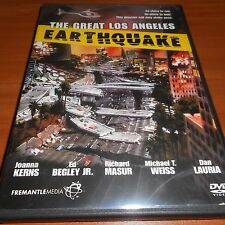 The Great Los Angeles Earthquake (DVD, 2006, Full Length Mini-Series) Used