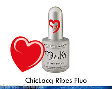 ChicLacq Rosso Ribes Smalto Semipermanente UV Soak-Off Nail Polish Unghie KyLua