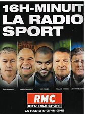 Publicité Advertising 2013 Radio RMC Info Talk sport
