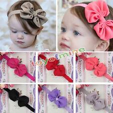 10pcs Fascia Capelli Bambini Neonato Bimba Fiocco Bow Girl Hair Band Headband