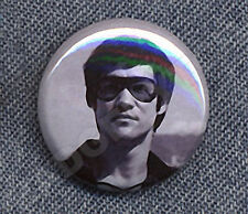 BRUCE LEE SHADES Badge Button Pin -  CLASSIC COOL!