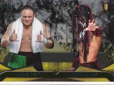 #2 SAMOA JOE vs FINN BALOR 2016 Topps WWE Then Now Forever NXT RIVALRIES
