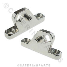 PAIR OF INFRICO HINGE SUPPORT MOUNTING BRACKETS FOR SALAD BAR 506X57 & 506X58
