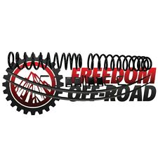 "Freedom Offroad 3"" Lift Leveling Kit 1984-01 Cherokee Lift Springs Leaf Springs"