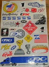 FX ۞ Factory Effex Racing Sticker Kit ۩ 25 Tlg. Aufkleber Set ۩ 4 bis 35cm ۞