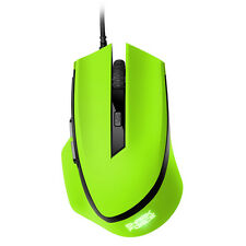 SHARKOON  SHARK FORCE Gaming Mouse Professionelle 6-Tasten-Gaming-Maus green