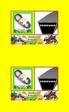 Keilriemen passend für Rasentrac 10/76 SL  Mähwerk 754-0198  + 754-0167