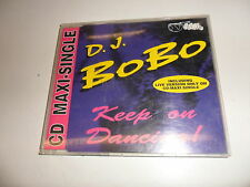 Cd    D.J. BoBo  ‎– Keep On Dancing!