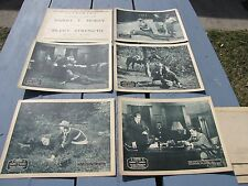 LOT OF 6 HARRY MOREY BETTY BLYTHE SILENT STRENGTH FILM MOVIE LOBBY CARDS POSTERS