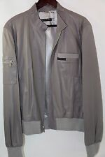 Members Only Lamb Leather Bomber Jacket Size M