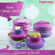 TUPPERWARE CLASSIC LUNCH (WITH BAG) & CUTLERY SET