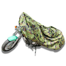 Large Sport Street Bike Camo Motorcycle Cover Outdoor Scooter Moped Protection