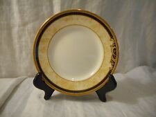 Bread & Butter Pie Plate, Wedgwood China, Cornucopia Pattern (501358) Blue Gold