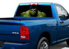Hulk movies Rear Window Decal Sticker Pick-up Truck SUV Car