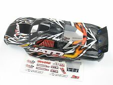 NEW TRAXXAS JATO 3.3 ORANGE BODY PAINTED WITH STICKERS