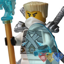 LEGO Ninjago Titanium Zane Minfigure from 70728 Battle for Ninjago City njo106