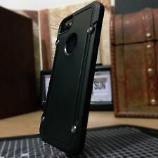 Apple iPhone 7 Rugged Extreme Element Case Tough Impact Resistent Shell  Black