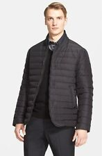 Armani Collezioni Channel Quilted Down Jacket (Size 42)
