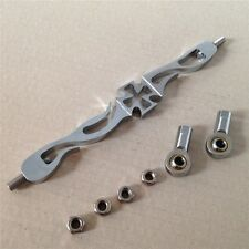 Chrome Cross Shift Linkage For Harley Softail Fxdwg Dyna Wide Glide Fl Fx Flh
