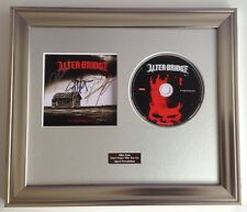 PERSONALLY SIGNED/AUTOGRAPHED ALTER BRIDGE - FORTRESS CD  FRAMED PRESENTATION.
