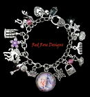 ~PRINCESS BARBIE THEMED CHARM BRACELET~