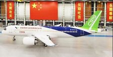 Comac C-919 China Narrow-Body Twin-Engine Jet Airliner Desktop Wood Model Small