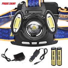 15000Lm 3x XML T6 USB echargeable HeadLight Headlamp Torch Lamp+18650+Charger UK