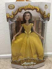 "Disney Store Belle Limited Edition 17"" Doll Live Action Film Beauty & The Beast"