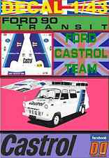 DECAL 1/43 FORD TRANSIT ASSISTANCE FORD CASTROL TEAM (05)
