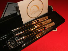 24Ct Gold Plated Harrows Dart Set - Jack Daniels JD Flights - Gift Boxed