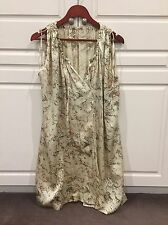 Isabel Marant Etoile Silk Dress With Drawstrings Size 1 Neutral Tones