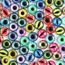 12mm 22colors Pairs of craft Eyes Glass 50pcs/lot Color Mixed Color