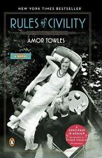 Rules of Civility by Amor Towles (2012, Paperback)