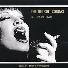 DETROIT COBRAS 'Love, Life & Leaving LP NEW sftri gories dirtbombs white stripes