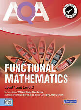 AQA Functional Mathematics Student Book Level 1 and Level 2      £9.99  New