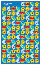 800 Sky Smiles School Teacher Reward Stickers - For Progress Charts