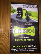 GripGo Universal Car Mobile Cell Phone Mount GPS Navigation Holder For Samsung U