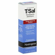 New Neutrogena T/Sal Shampoo Scalp Build-Up Control 4.5 FL. OZ. Expiration 2019