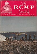 RCMP QUARTERLY-FROM  THE ROYAL CANADIAN MOUNTED POLICE-APRIL 1969 ISSUE